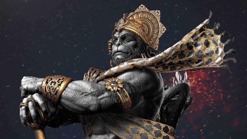 Angry Lord Hanuman Full HD Wallpapers