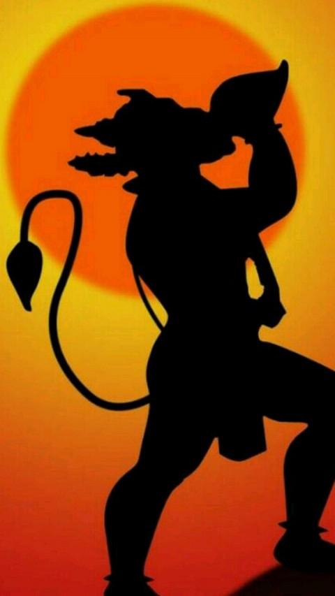 Art Desing Lord Hanuman Wallpaper Hd For Mobile