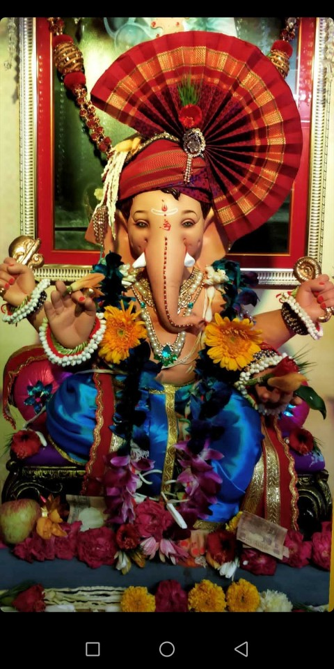Baby Lord Ganesha Wallpaper Photo