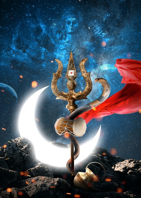 Blue Lord Shiva Wallpapers Images Backgrounds