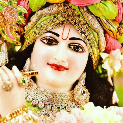 Face Krishna Images For Whatsapp Dp