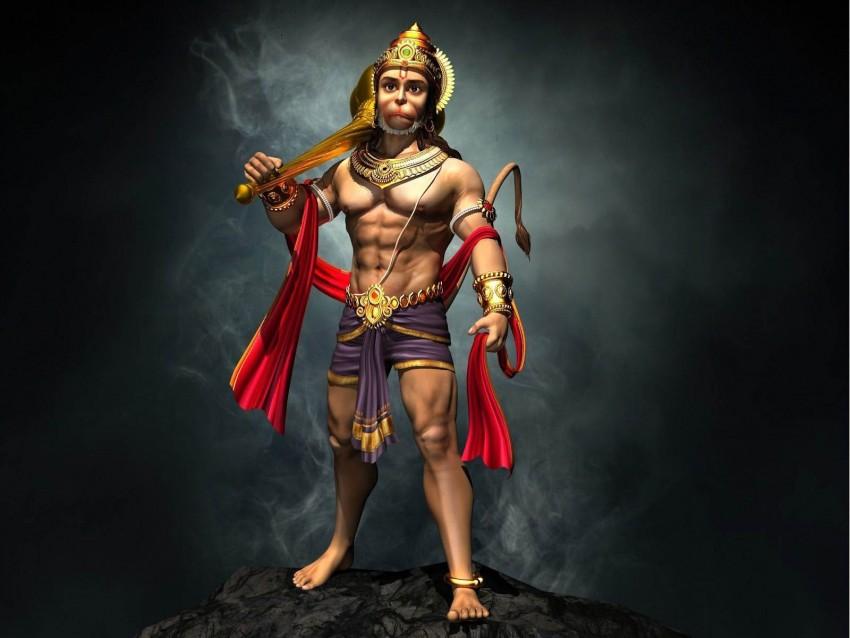 Full Body Hanuman Ji Photos Full HD Wallpaper