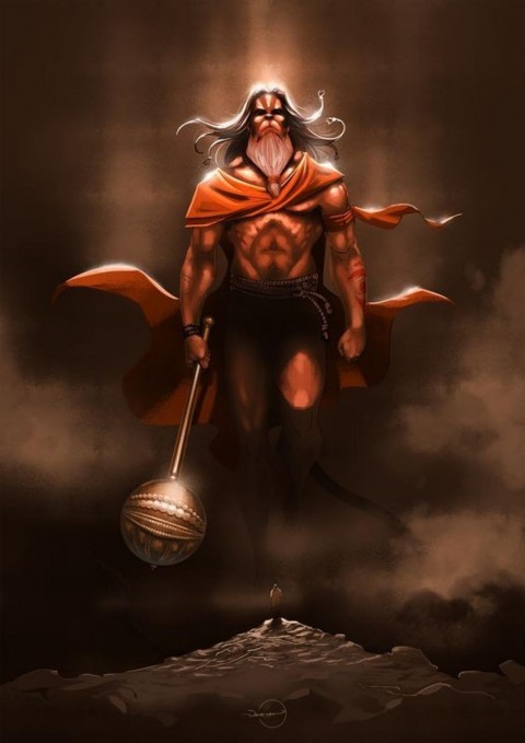 Full Size Beautiful Hanuman Wallpapers Download
