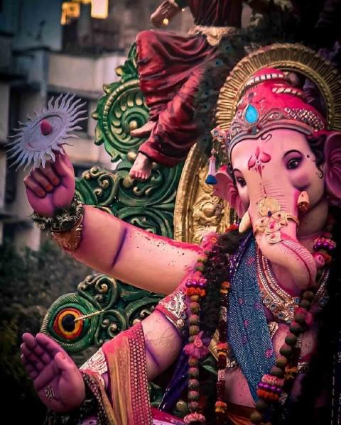 Ganesh Puja Murti Images Photo