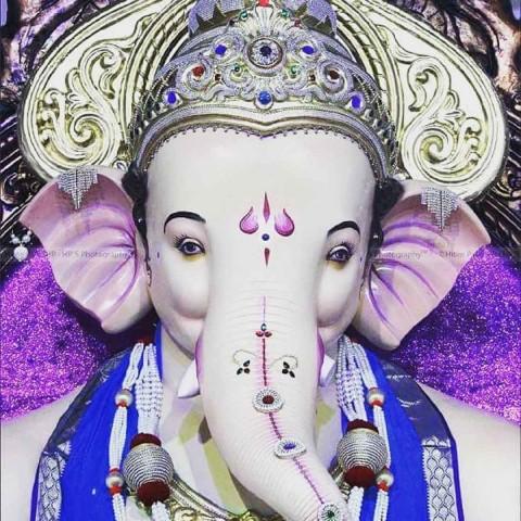 Ganpati Bappa Face Images Download
