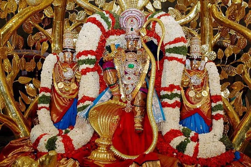Golden Lord Balaji Images Photo Download