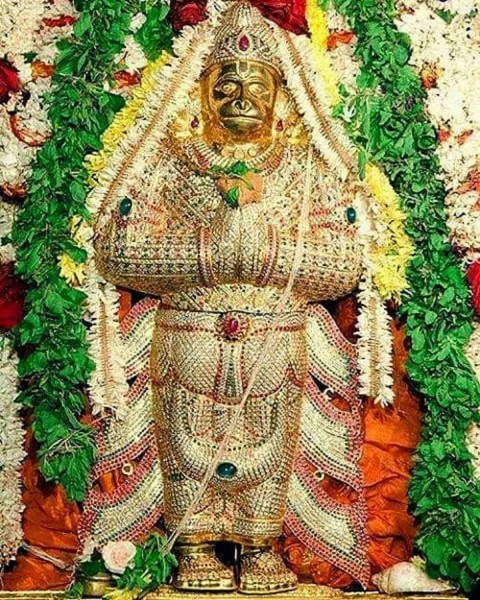 Lord Hanuman Images In Temple