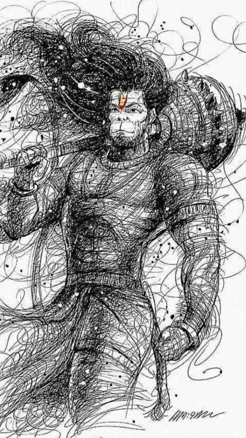 Lord Hanuman Wallpaper Hd Photo For Mobile Iphone