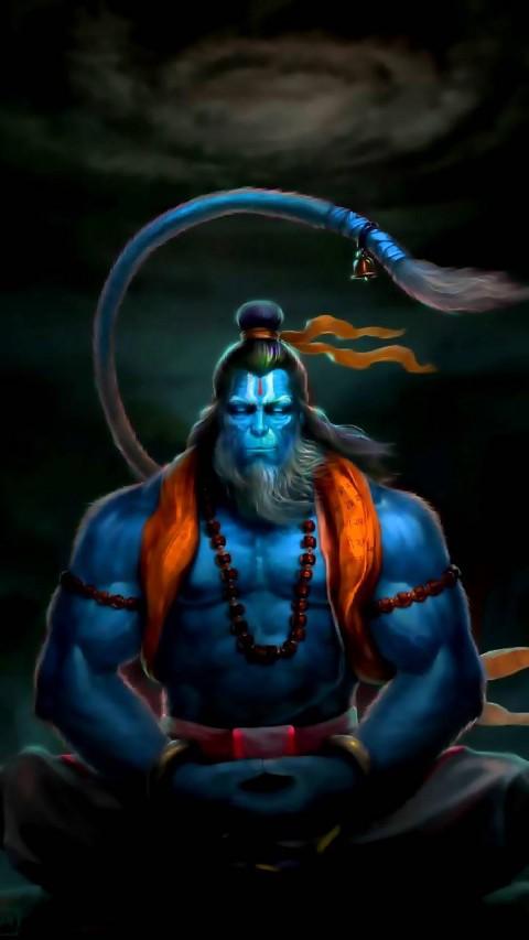 Lord Old Hanuman Wallpaper Pic