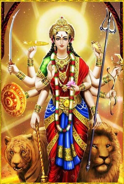 Maa Durga Devi Wallpaper Full Hd  For Mobile Phone