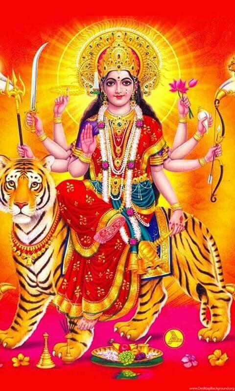 Maa Durga Devi Wallpaper Hd Photo