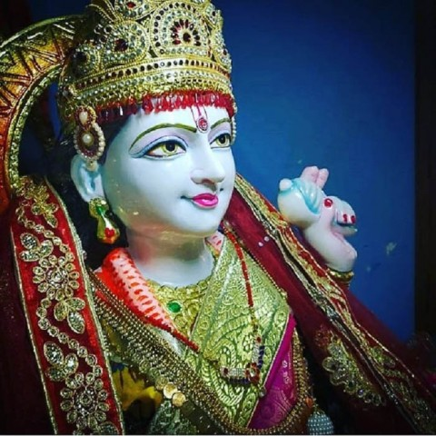 Maa Durga Face Images Photo For Wallpaper
