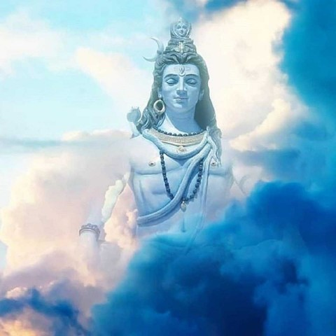 Mahadev Murti Images In Cloud