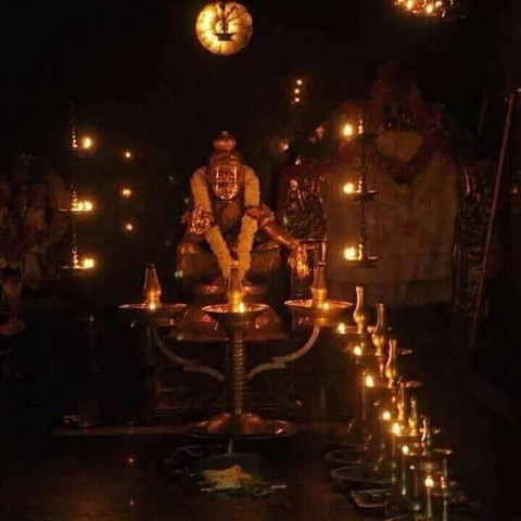 New Latest God Ayyappa Images From Temple