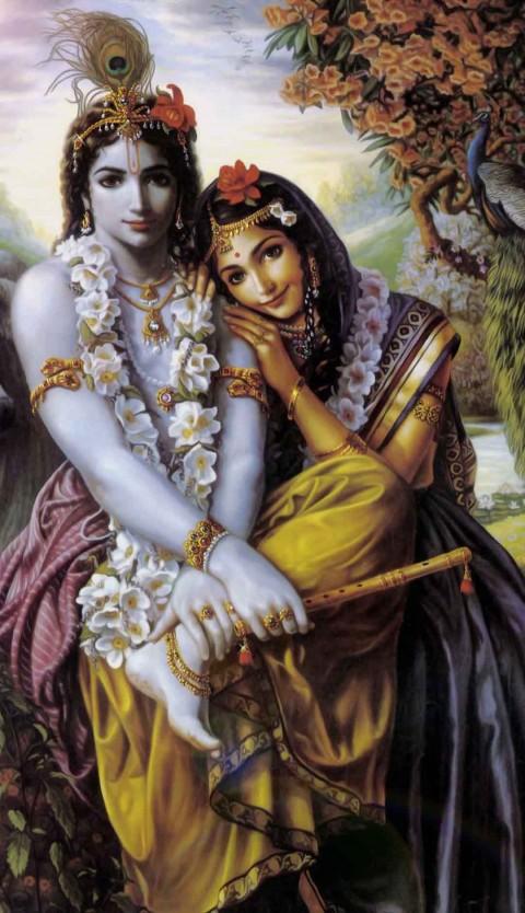 Radha With Krishna Wallpaper  Download