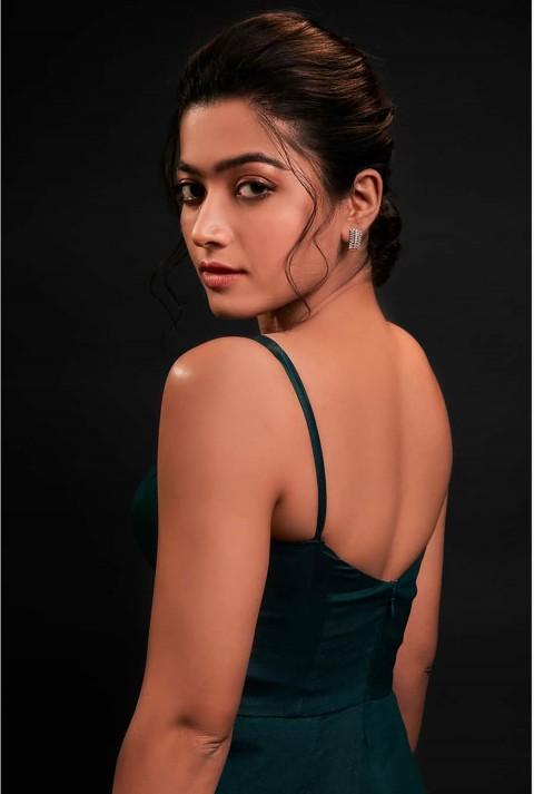 Rashmika Mandanna Back Side images Photo