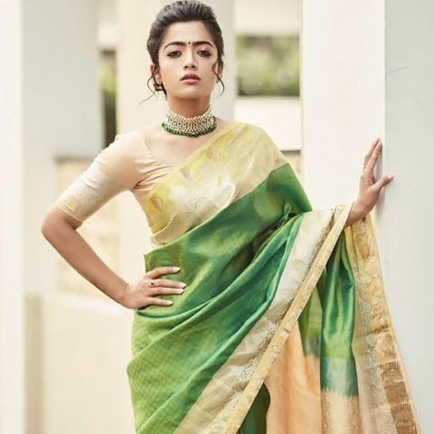 Rashmika Mandanna images Photo  IN Saree