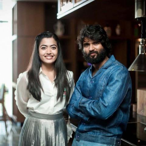 Rashmika Mandanna With Vijay Devarkonda