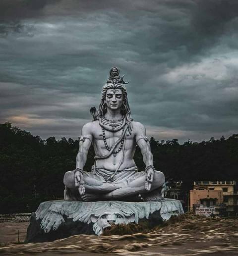 Real Magadev Murti Shiva Images