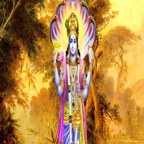 Satnd Lord Vishnu Ji Wallpaper Hd Photo For Mobile