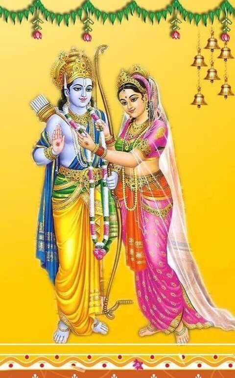 Shri Ram And Sita Wallpaper Hd Photo