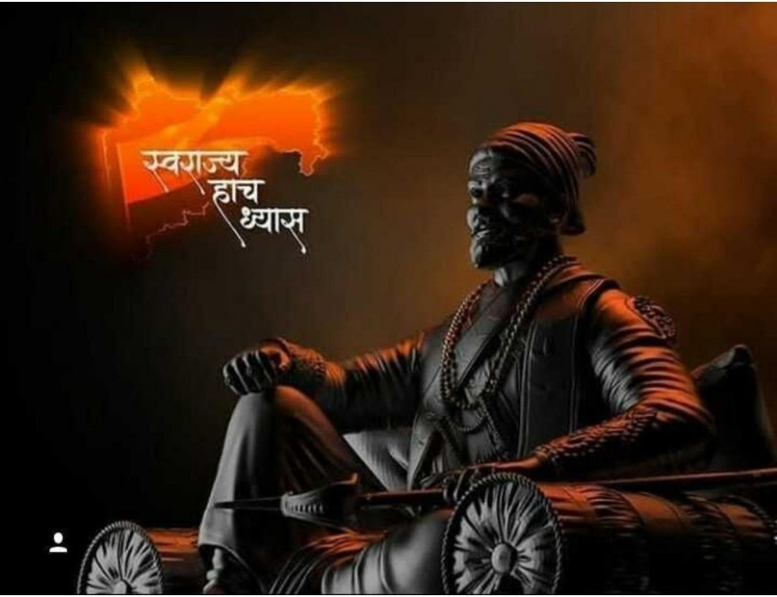 Sitting Chhatrapati Shiva Ji Maharaj Full Hd Wallpaper